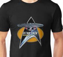 StarTrek Enterprise 1701 D Command Signia Chest Unisex T-Shirt