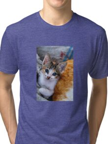 Soulful eyes Tri-blend T-Shirt