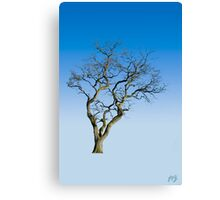 Wire Tree Canvas Print