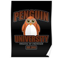 Penguin University - Brown 2 Poster