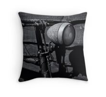 Speed was my death. Throw Pillow