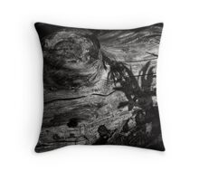 Kissed by the ghosts of the living.  Throw Pillow