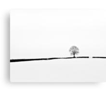 Simplicity of Snow Canvas Print