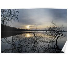 Sunrise on Myall Lakes Poster