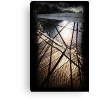 Bridge shadows Canvas Print