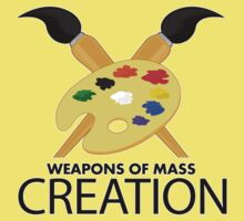 Weapons of mass creation - Yellow Kids Clothes