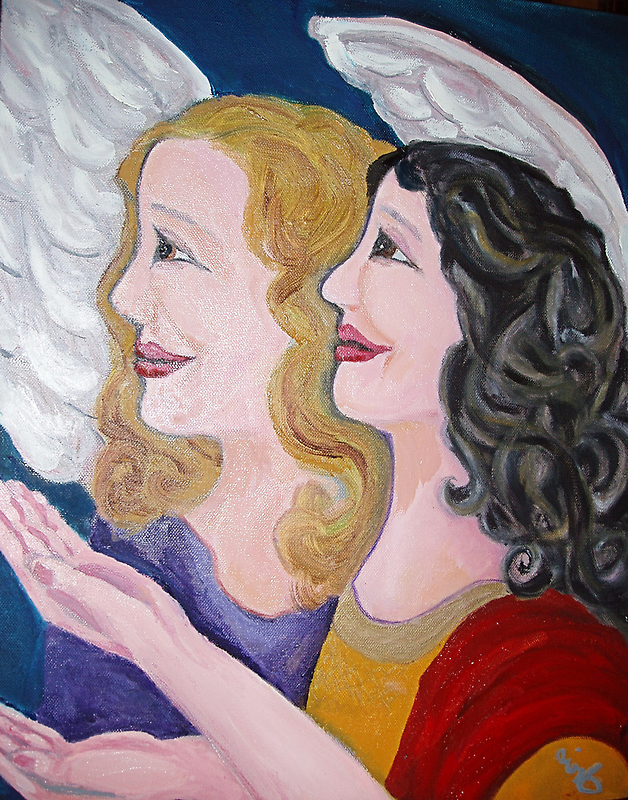 Angels singing on high by irisgrover