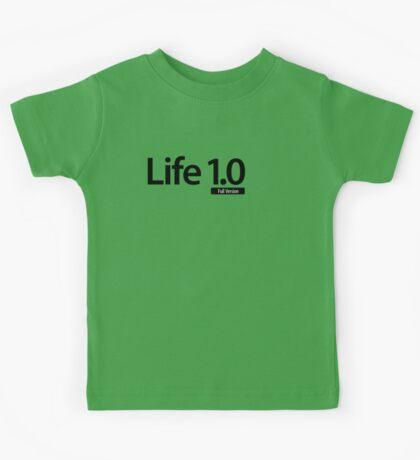 Life 1.0 (Full Version) Kids Tee