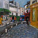 Sur la Butte Montmartre by Sandy Taylor
