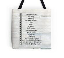 Nanny Checklist Tote Bag