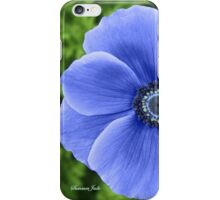 Indigo Anemone ~ A Cool Beauty iPhone Case/Skin