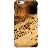 Clare Valley bottle cork iPhone Case/Skin