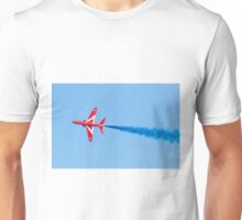 RAF Red Arrows Hawk Jet Aircraft Unisex T-Shirt