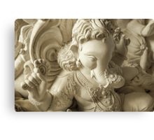 Moods of Lord Ganesh & the making of idols #6 Canvas Print