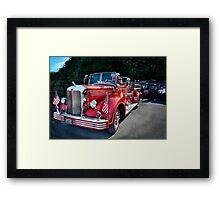 Fireman - 1949 and it still runs  Framed Print