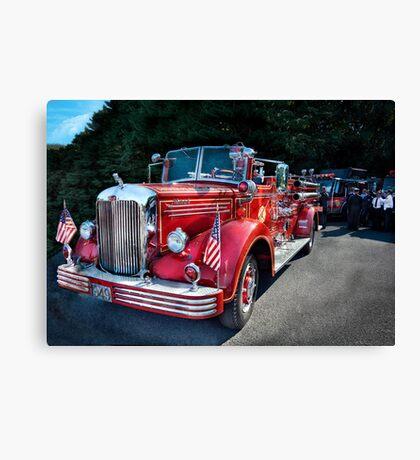 Fireman - 1949 and it still runs  Canvas Print