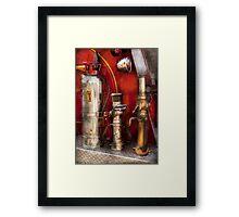 Fireman - Fighting Fires  Framed Print
