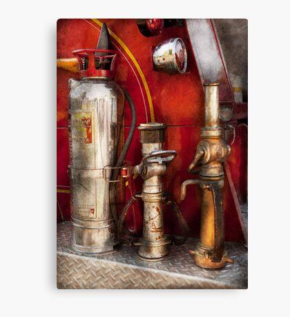 Fireman - Fighting Fires  Canvas Print