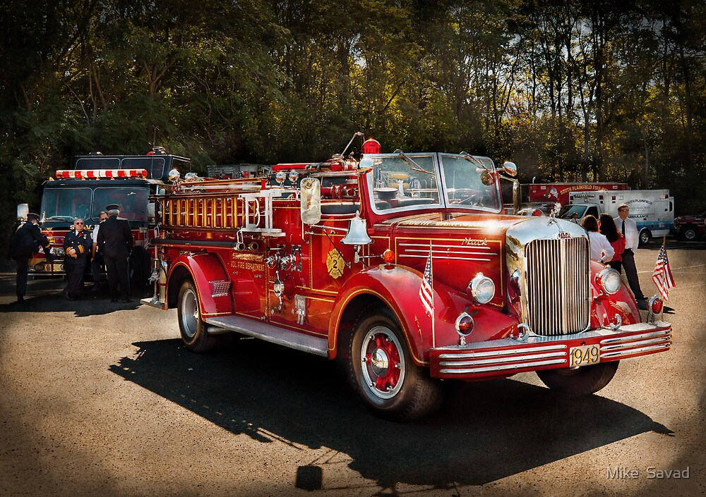 Fireman - The Procession  by Mike  Savad