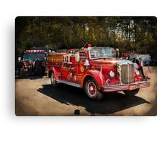 Fireman - The Procession  Canvas Print