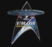 StarTrek Command Silver Signia Enterprise 1701 D  3 by ratherkool