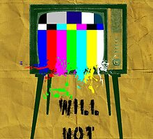 The revolution will not be televised  by nbswars