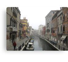 Canal Venice Canvas Print
