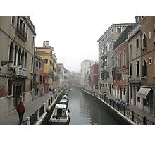 Canal Venice Photographic Print