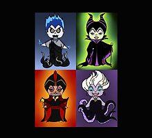 Disney Villains 2 by rainbowcho