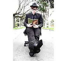 Outdoor Office Man Photographic Print
