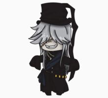 Undertaker- Black Butler chibi Kids Clothes