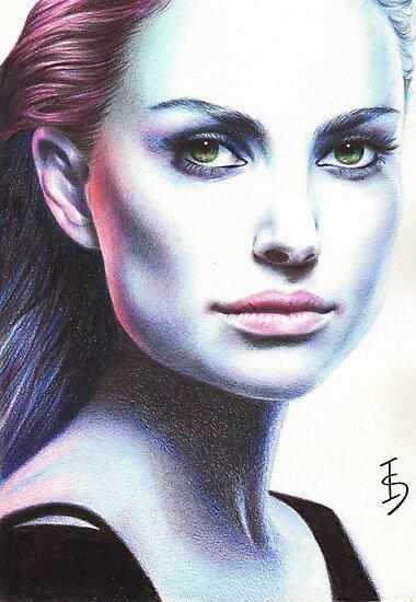 Natalie Portman by Irene Owens