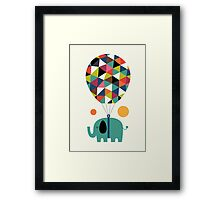 Fly high and dream big Framed Print