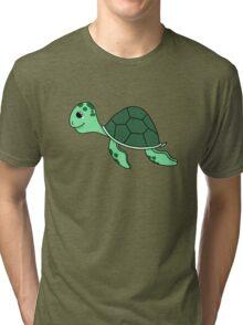 Turtle chibi Tri-blend T-Shirt