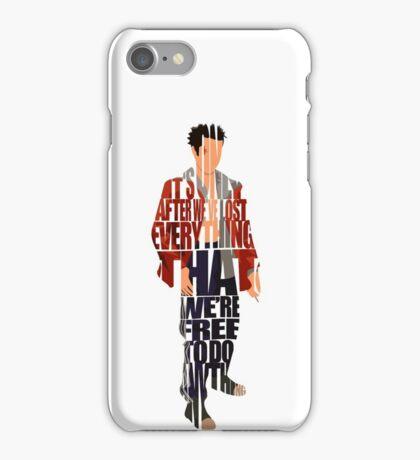 Tyler Durden iPhone Case/Skin