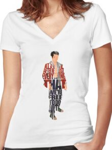 Tyler Durden Women's Fitted V-Neck T-Shirt