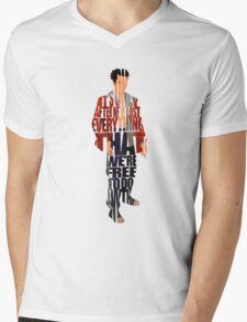 Tyler Durden Mens V-Neck T-Shirt