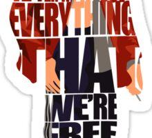Tyler Durden Sticker
