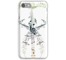 Guitar and Music Notes 9 iPhone Case/Skin
