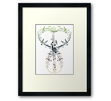 Guitar and Music Notes 9 Framed Print