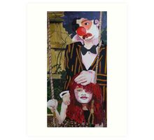 Phobia-The Clown &The Doll Art Print