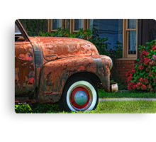""""""" Honey, I washed and waxed your truck """" Canvas Print"""