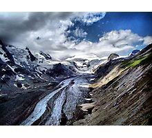The Pasterze Glacier, Grossglockner, Austria. Photographic Print
