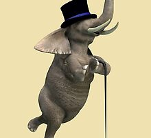 Tap Dancing Elephant by Mythos57