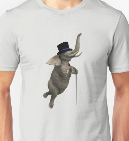 Tap Dancing Elephant Unisex T-Shirt