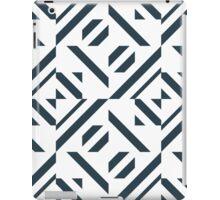 Modern lines.Geometric pattern. iPad Case/Skin