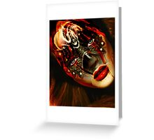 "Fashion Trend ""Mask series"" Greeting Card"