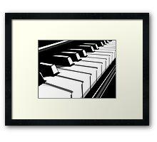 Piano Keyboard no2 Framed Print
