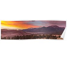 SUNSET ON THE DUNES 1 Poster