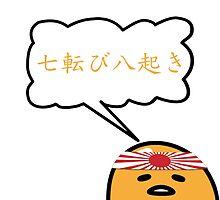 Gudetama Stay Strong Proverbs by furanzu